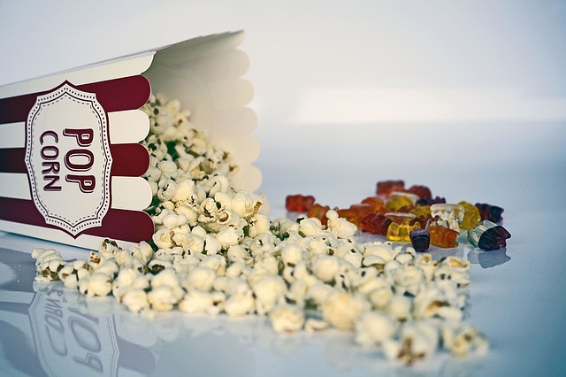 Popcorn, Snack, Cinema, Food, Tasty, Salty, Delicious