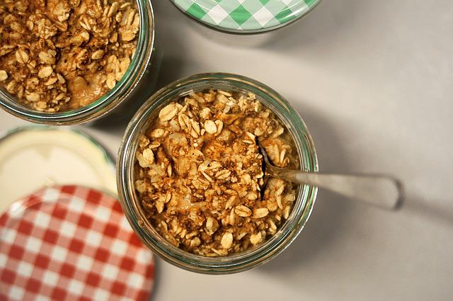 Oat, Oats, Overnight, Relax, Food, Oatmeal, Foodie, Jar
