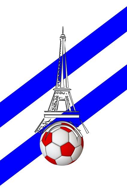 European Championship, Football, France, Eiffel Tower