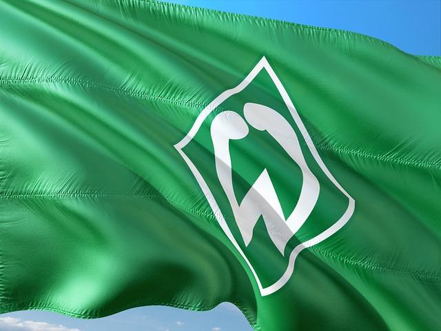 Flag, Logo, Football, Bundesliga, Werderbremen