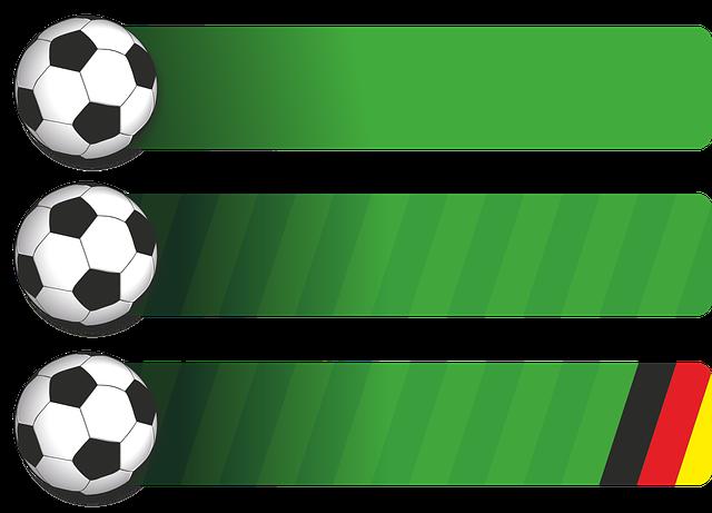 Football, Ball, Green, Background, Banner
