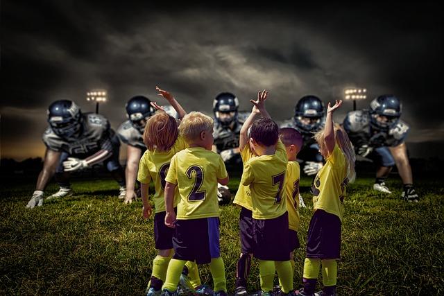 Team, Team Spirit, Stadium, Sport, Children, Football
