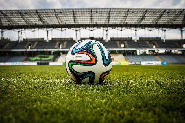 Soccer, Ball, Stadium, Field, Soccer Stadium, Football