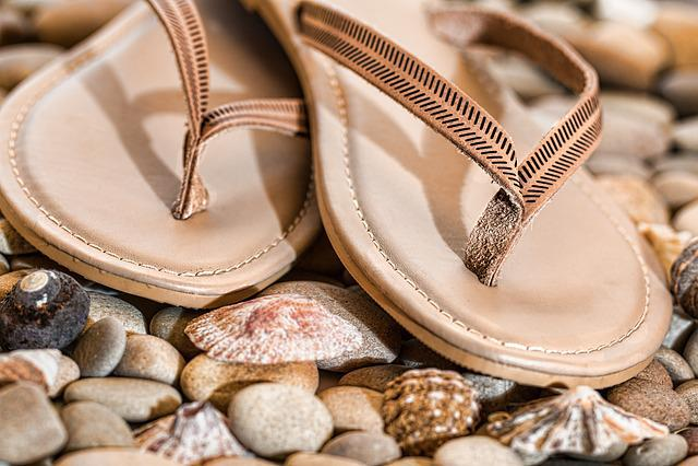 Beach Thongs, Flip Flops, Footwear, Summer, Beach