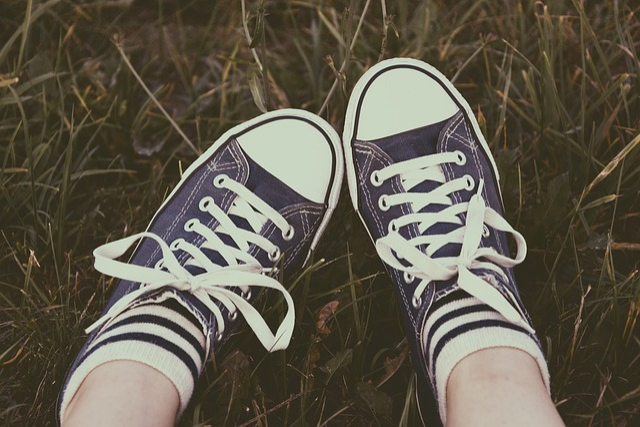 Shoes, Footwear, Sneakers, Laces, Legs, Feet