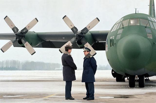 Hercules, C-130, Airplane, Military, Army, Air, Force