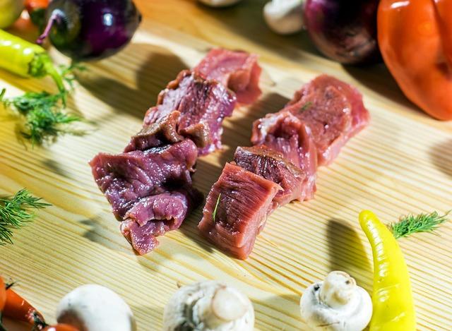 Goat's Flesh, Forcemeat, Meat, Cyroe, Vegetables