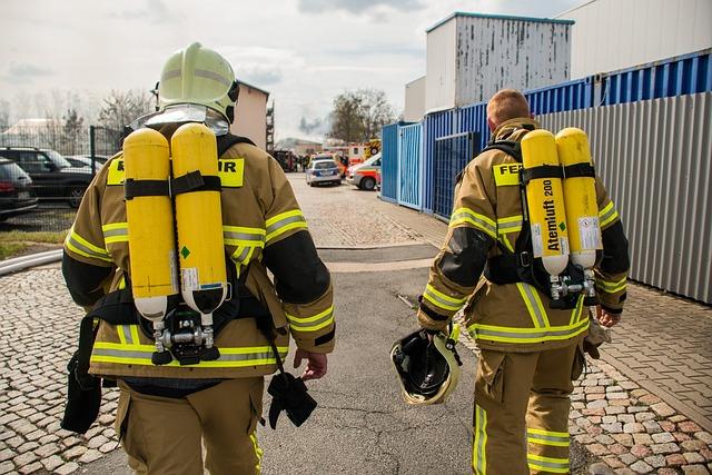 Fire, Fire Fighter, Firefighters, Forces, Kameraden