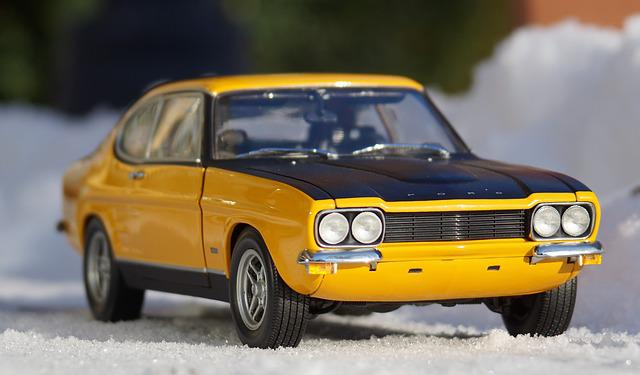 Auto, Model Car, Ford, Capri, Vehicles, Toys, Model