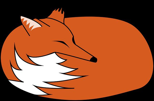 Fuchs, Sleeps, Rolled Up, Reineke, Forest Animal