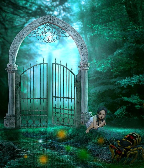 Fairytale, Wasp, Dweller, Forest, Fantasy, Digital Art