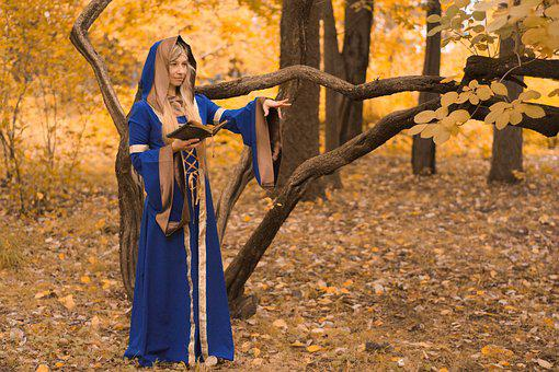 Magic, Witch, The Middle Ages, Witchcraft, Girl, Forest