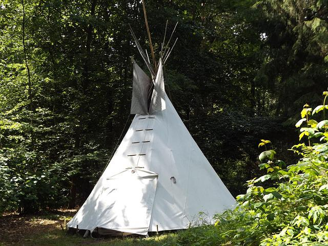 Tipi, Forest, Nature, Wild, Summer, Meadow, Tent, Grass
