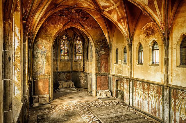 Hall, Lost Places, Pforphoto, Decay, Old, Forget