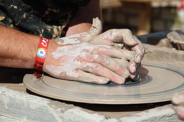 Potter, Sound, Form, Clay Figure, Hub, Craft