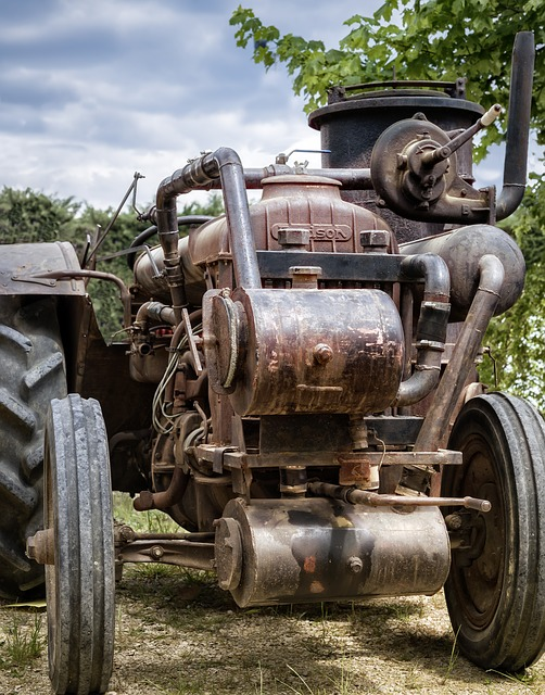 Tractor, Former, Gasifier, Agriculture