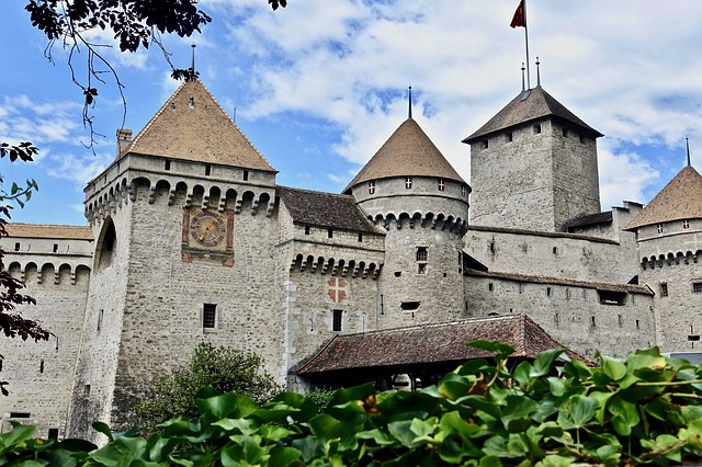 Castle, Turrets, Fortification, Architecture, Gothic