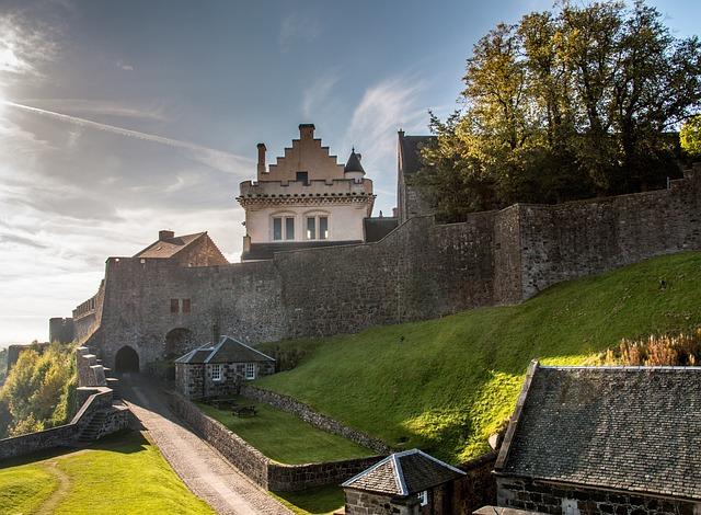 Stirling, Stirling Castle, Castle, Fortification
