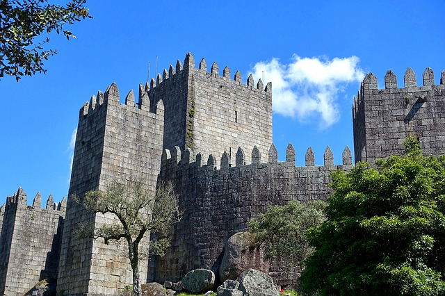 Castle, Embattlement, Tower, Stone, Fortified