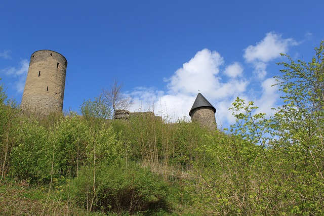 Nürburg, Castle, Fortress, Architecture, Wall, Towers