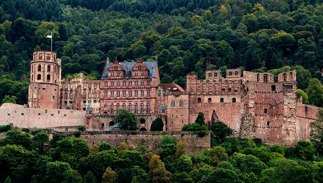 Heidelberg, Castle, Heidelberger Schloss, Fortress