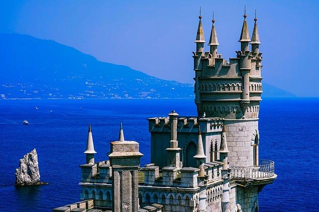 Swallow's Nest, Fortress, Castle, Crimea, Black Sea