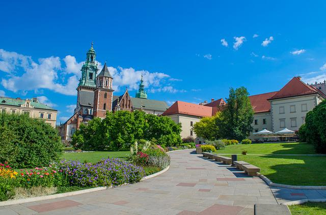 Krakow, Poland, Europe, Wawel, Castle, Fortress, Tower