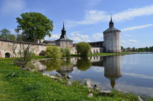 Russia, Kirillo-belozersky Monastery, Fortress