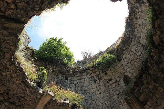 Fortress, The Ruins Of The, Archeology, Wall, Tower