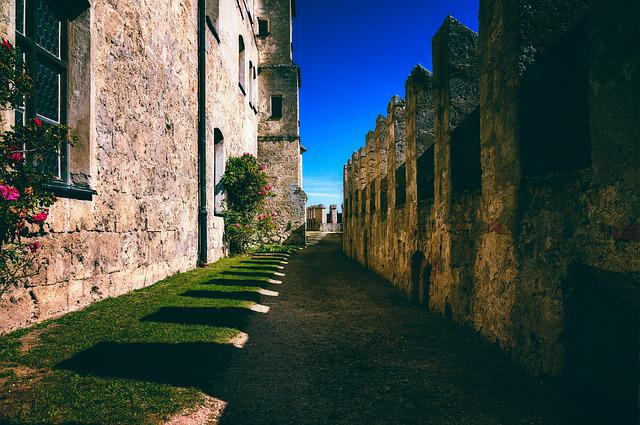 Castle, Fortress, Battlements, Middle Ages, Wall