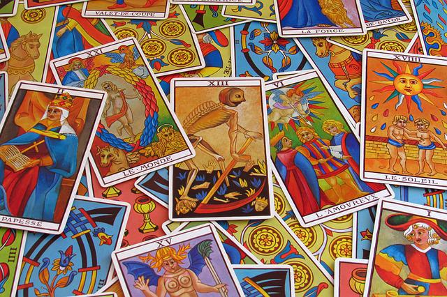Fortune Telling, Tarot, Letters, Card Games