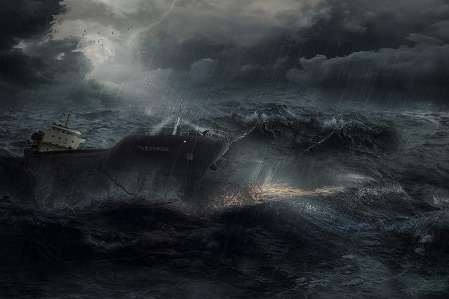 Waters, Forward, Sea, Ocean, Distress, Risk, Composing