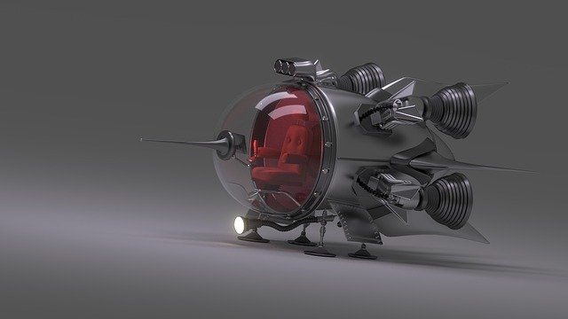 Spaceship, Forward, Ufo, Science Fiction, Futuristic