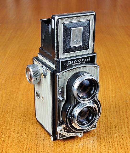 Camera, Old Camera, Meopta, Flexaret, Photo, Lens, Foto