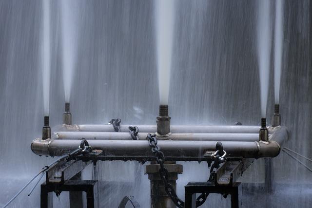 Fountain, Nozzles, Pressure, Water Pressure, Force