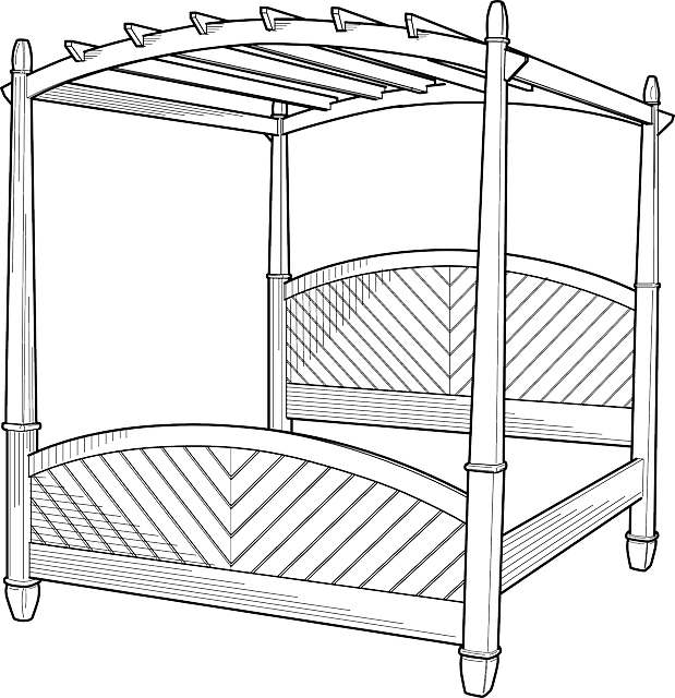 Four Poster Canopy Bed, Four Poster, Canopy Bed