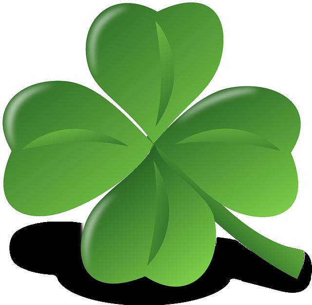 Four-leaf Clover, Clover, Luck, Lucky, Shamrock