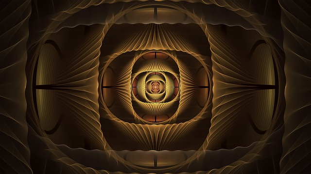 Fractal, Copper, Amber, Abstract, Fractal Art, Pattern