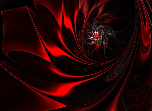 Abstract, Curve, Dark, Flame, Pattern, Fractal Art