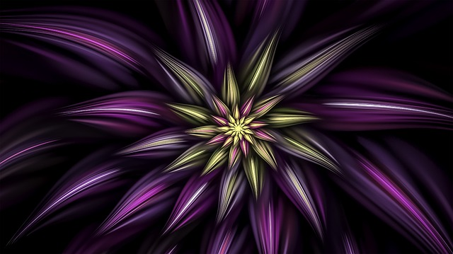 Fractal, Flower, Floral, Abstract, Fractal Art, Petals