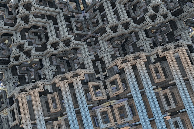 Menger, 3d, Background, Render, Fractal, Backdrop