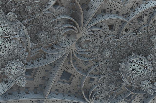 Fractal, 3d, Design, Fantasy, Futuristic, Spheres