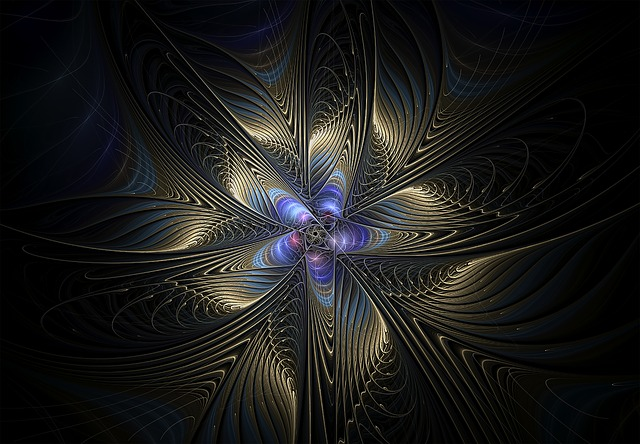 Fractal, Blue, Abstract, Fractal Art, Pattern