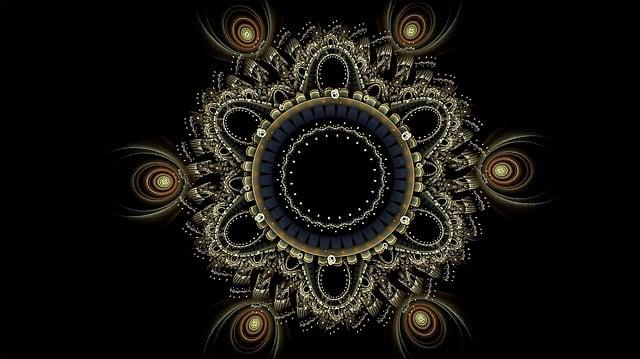 Fractal, Mandala, Intricate, Fractal Art
