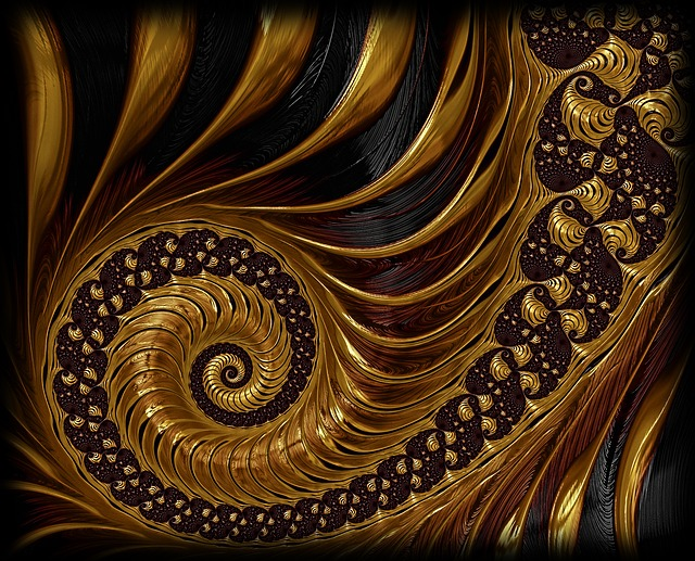 Fractal, Spiral, Endless, Mathematics, Mathematical