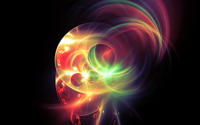 Fractal, Light, Light Fractal, Neon, Neon Plasma