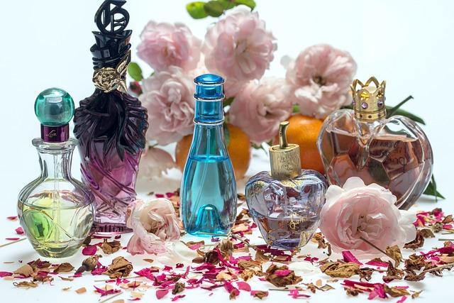 Still Life, Roses, Perfume, Perfume Bottles, Fragrance