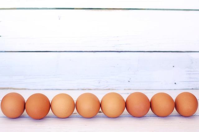 Brown Eggs, White Space, Border, Frame, Background
