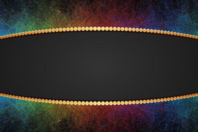 Frame, Border, Colorful, Pearl, Borders And Frames