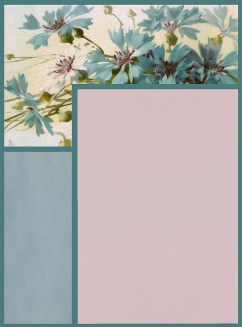 Scrapbook, Paper, Page, Frame, Stationary, Flower